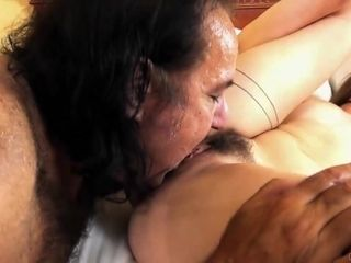 Taylor Pierce is having sex with a horny, old man and enjoying every single second of it