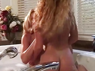 Horny Milfs have Lesbian Sex in the Bath