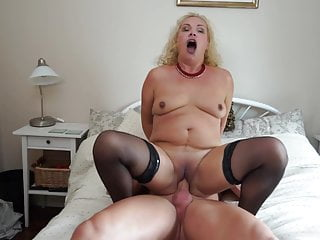 Mature mothers gargle and boink intense sonnies