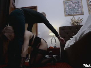 Fucked HARD by a MILF ! ANAL fisting