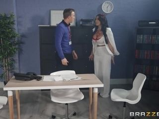 Drilling During Fire Drill! Ft. The Bustiest Milf In The City With Danny D And Victoria Summers