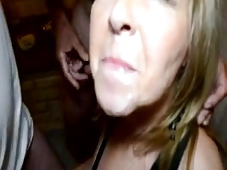 Old folks bisex party - hot mature wife CIM