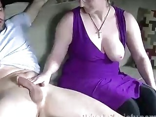 Chubby chick with glasses is sucking cock like a prostitute in exchange for a hardcore fuck