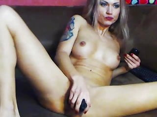 Suck big toy and fuck wet pussy