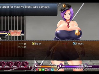 Karryn's Prison [RPG Hentai game] Ep7 huge breast massaged