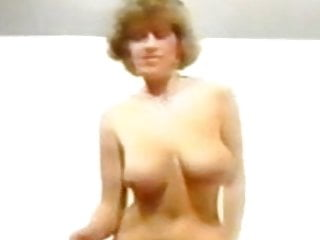 Huge-boobed dancing and unwrapping 1