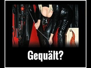 German domination & submission female dominance cougar tube nail the nail-stick