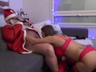 The Santa Clause Gets His Dick Sucked