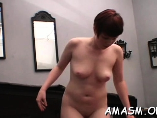 Sexy maiden gets body fondled