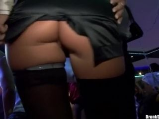 Horny Sluts Group Fucking At The Drunk Sex Orgy