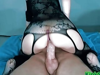 WIFE FUCKING A HUGE COCK 2