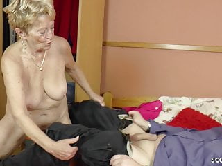 75yr older GERMAN grandma USCHI entice youthful dudes TO bang HER