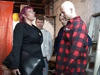 Big Tit Purple Haired Dutch MILF