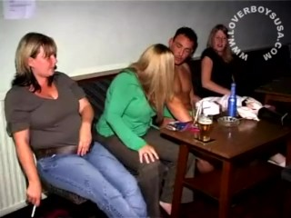 Clear the way stripper gets the man blondes soul abroad