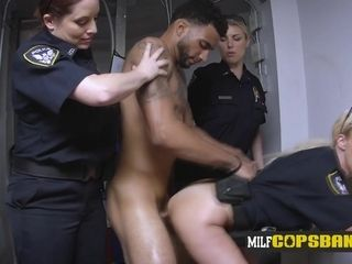 Super-hot mummy I´d like to tear up hoe in cop uniform