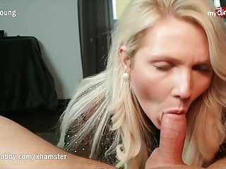 MyDirtyHobby -Busty cougar stepmother gargles and facialized