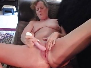 Mature doll letting off some steam after hot sex