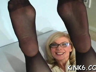 Amazing floozy is getting her daily dose of wild sex