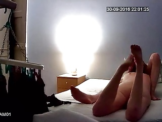 Velmadoo black thong blowjob