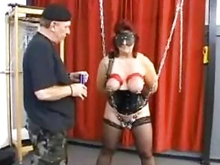 Mature amateur milf wife mother hardcore pussy and boobs torture