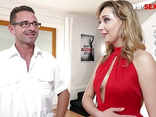 EXPOSED CASTING – Russian MILF Mia Cruise Rough Drilled On Set