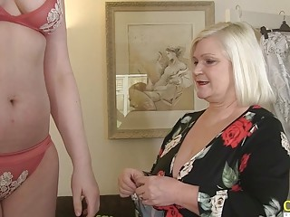 OldNannY British Mature With Big Tits in Main Role