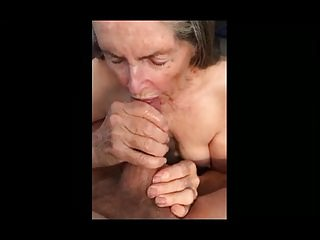 Granny Makes Handjob be beneficial to fall Sperm 01