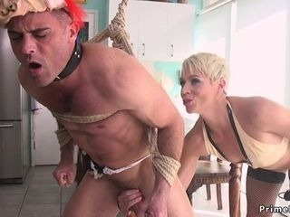 Blond Hair Girl Mom poolgirl had intercourse by partyboy