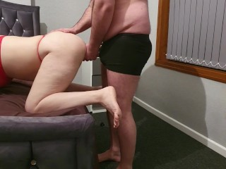 Step mom can't handle 12 inch of dick from step son fucked on hidden camera
