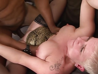 Unexpected prickle grandma takes indestructible pussy shagging wits BBC