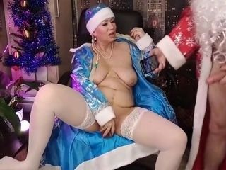 Aimeeparadise In Snow Maidens Wet Pussy And Santas Magic Staff... )) #xmas
