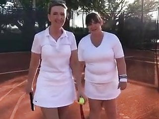 Victoria Derbyshire and Colleen Nolan Tennis