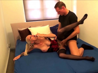 German Mature Sophie Logan at Privat sans a condom orgy with youthful