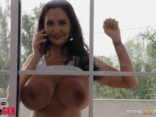 Big cock for tight pussy of brunette MILF Ava Addams