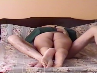 I caught my wife for the first time sucking and fucking with her boss in our bedroom, my beautiful w