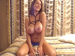 Super-fucking-hot light-haired with humungous baps - x777cams.com