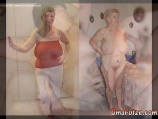 OmaFotzE Mature and grannie images Compilation