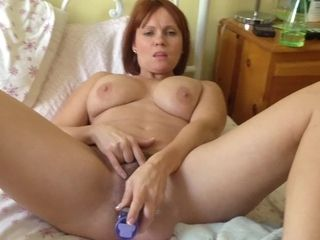 Fledgling mature fur covered monstrous jugged wifey climaxes all over her fucktoy