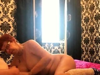 ANNA - NEW - MATURE MANCHESTER WIFE SUCKING MY SMALL COCK