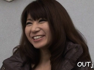 Wanton mature eastern girlfriend Naomi Sugawara gets cooter inspected