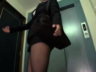 Two nylon loving trannies in blowjob action