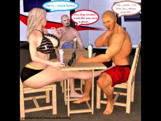 3D Comic: Hotwife Cheats chiefly cut corners off out of one's mind shacking up detach from