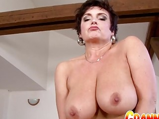 Granny Vs BBC - Juicy Mature Jessica Hot