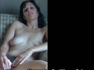 Secret Life Sexy Hairy Wife Fucked Creampied Home