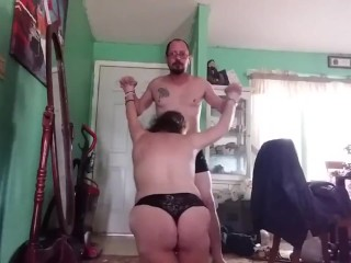 MILF dominated by her brother in test of strength #PHMILF