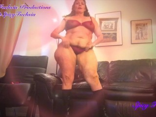 BBW Valentine Strip Tease and Dance