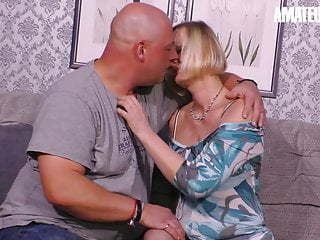 XXX OMAS - Classy German Granny Tries Sex On Cam With Hubby