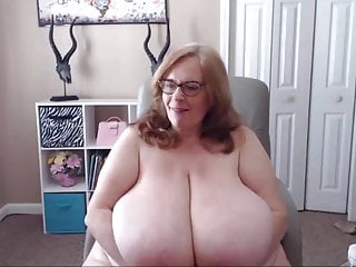 Crazy plumper with fantastic glasses and meaty innate bosoms