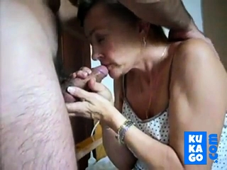 mature girl prefers cum to swallow
