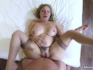 Big Rump And Honkers Blond mature POV sex